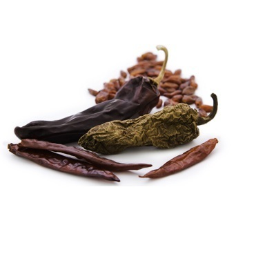 Assortiments piments secs - guajillo-ancho-pasilla